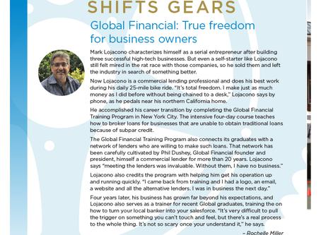 Entrepreneur Shifts Gears | Franchise Dictionary Magazine