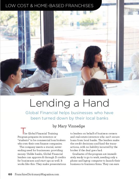 Lending a Hand | Franchise Dictionary Magazine