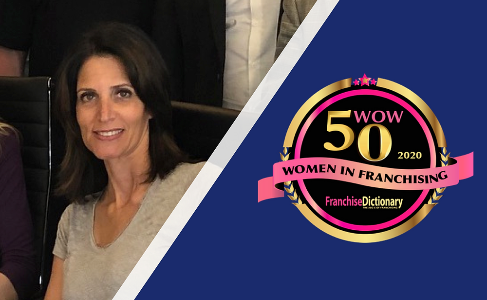 Erica Sarway, Franchise Dictionary Magazine's 50