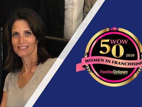 Erica Sarway, Franchise Dictionary Magazine's 50 Women of Wonder