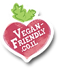 vegan friendly logo