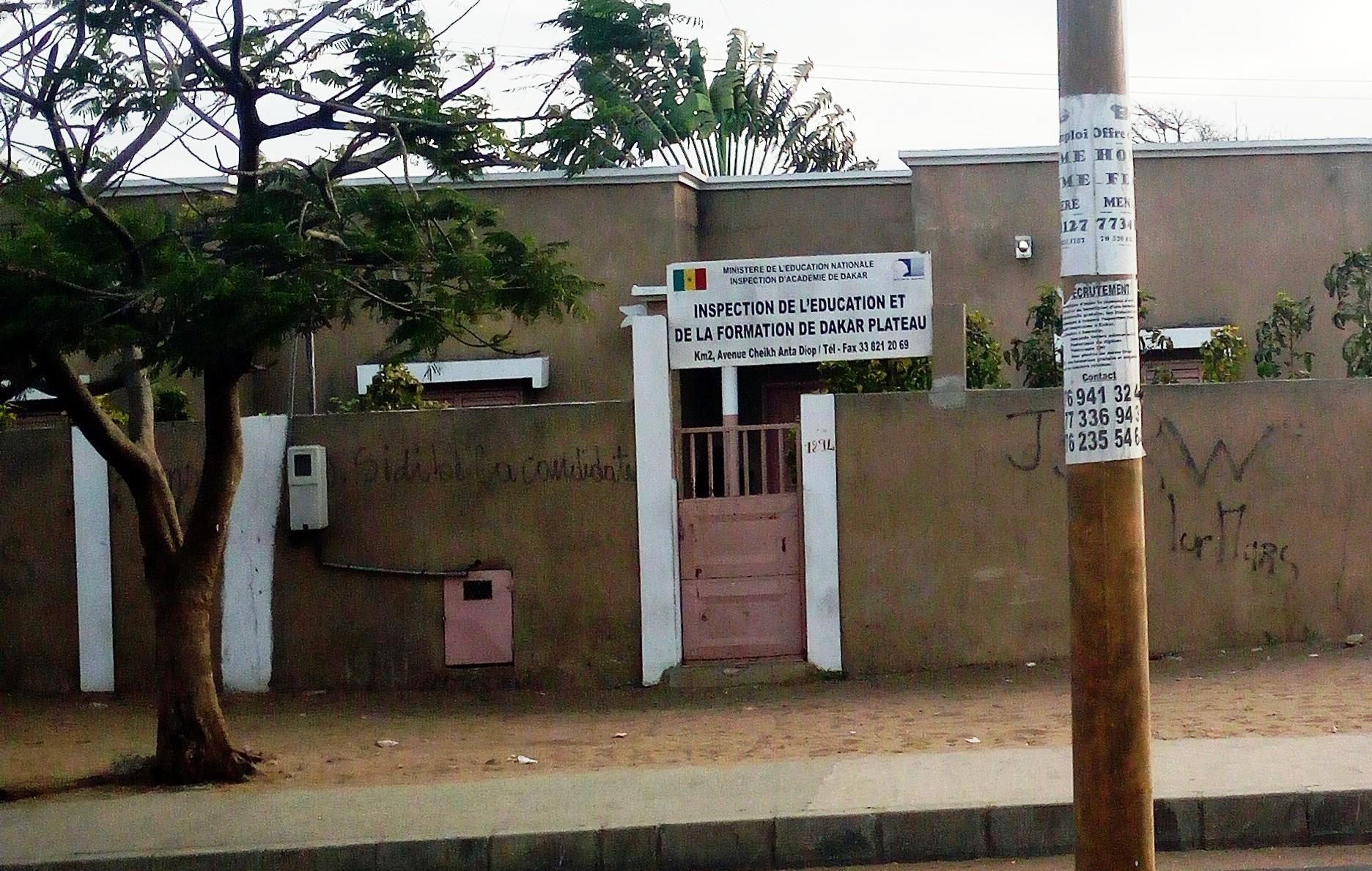 IEF de Dakar Plateau