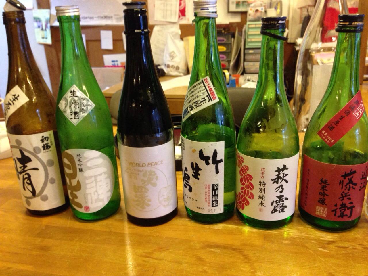 日本酒座学2014 酒舗まえたに
