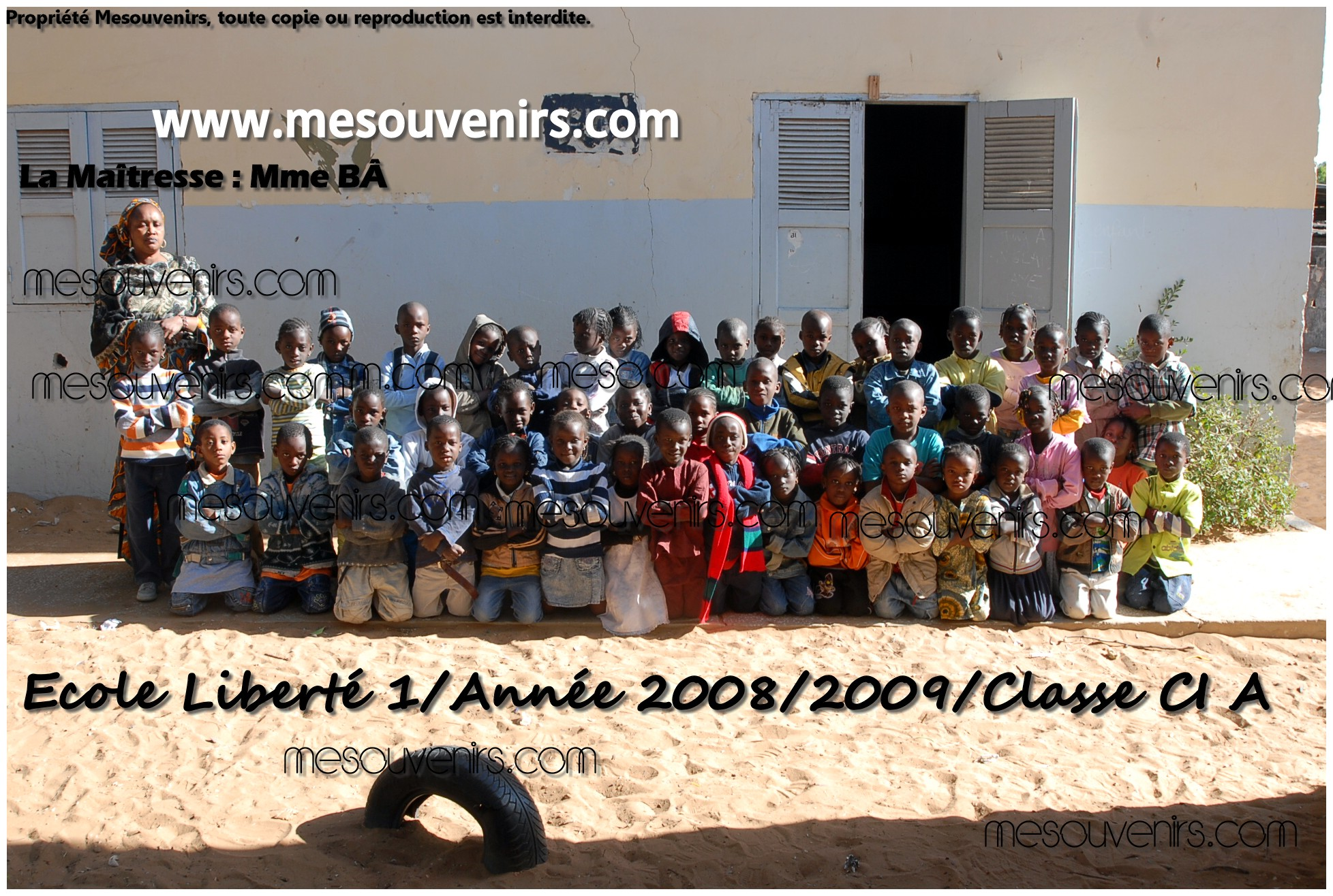 Ecole Liberté 1  2008 2009 CI A