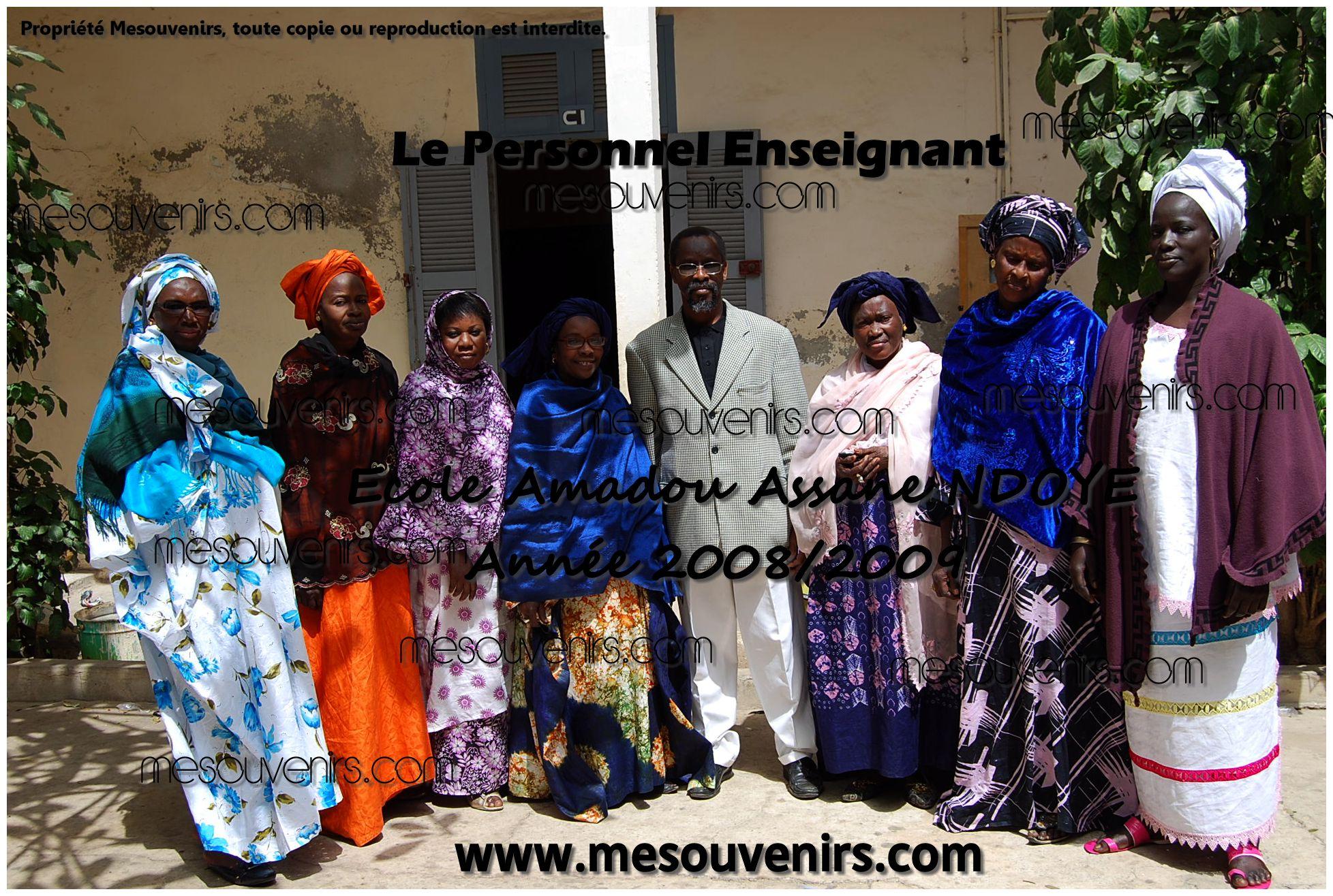 Amadou A NDOYE 2008 2009 Personnel