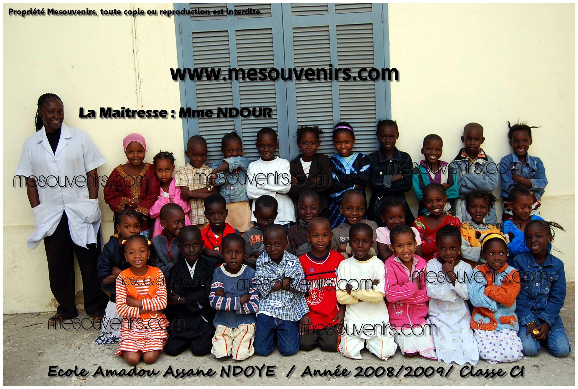 Amadou A NDOYE 2008 2009 CI