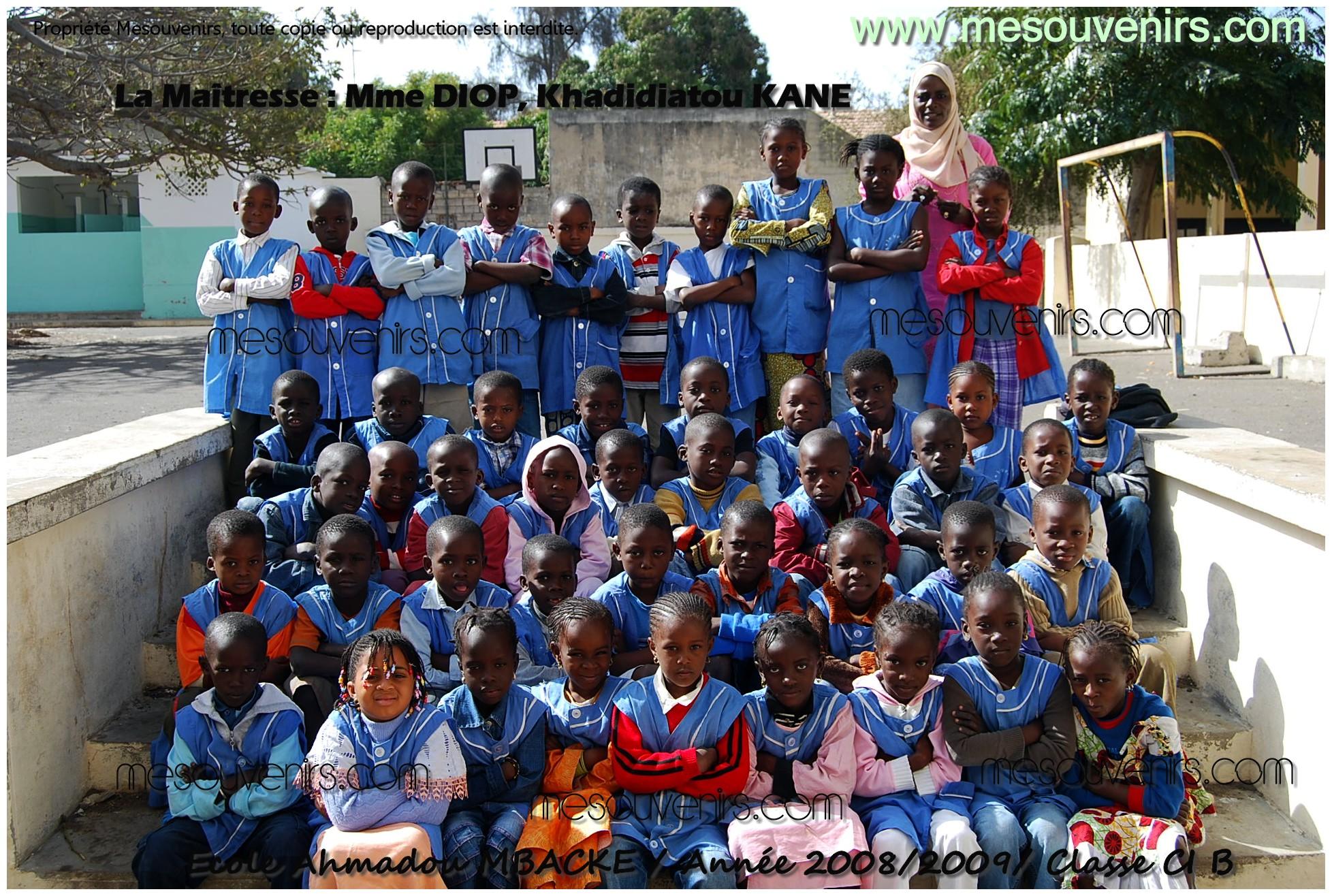 Ahmadou MBACKE 2008 2009 CI B
