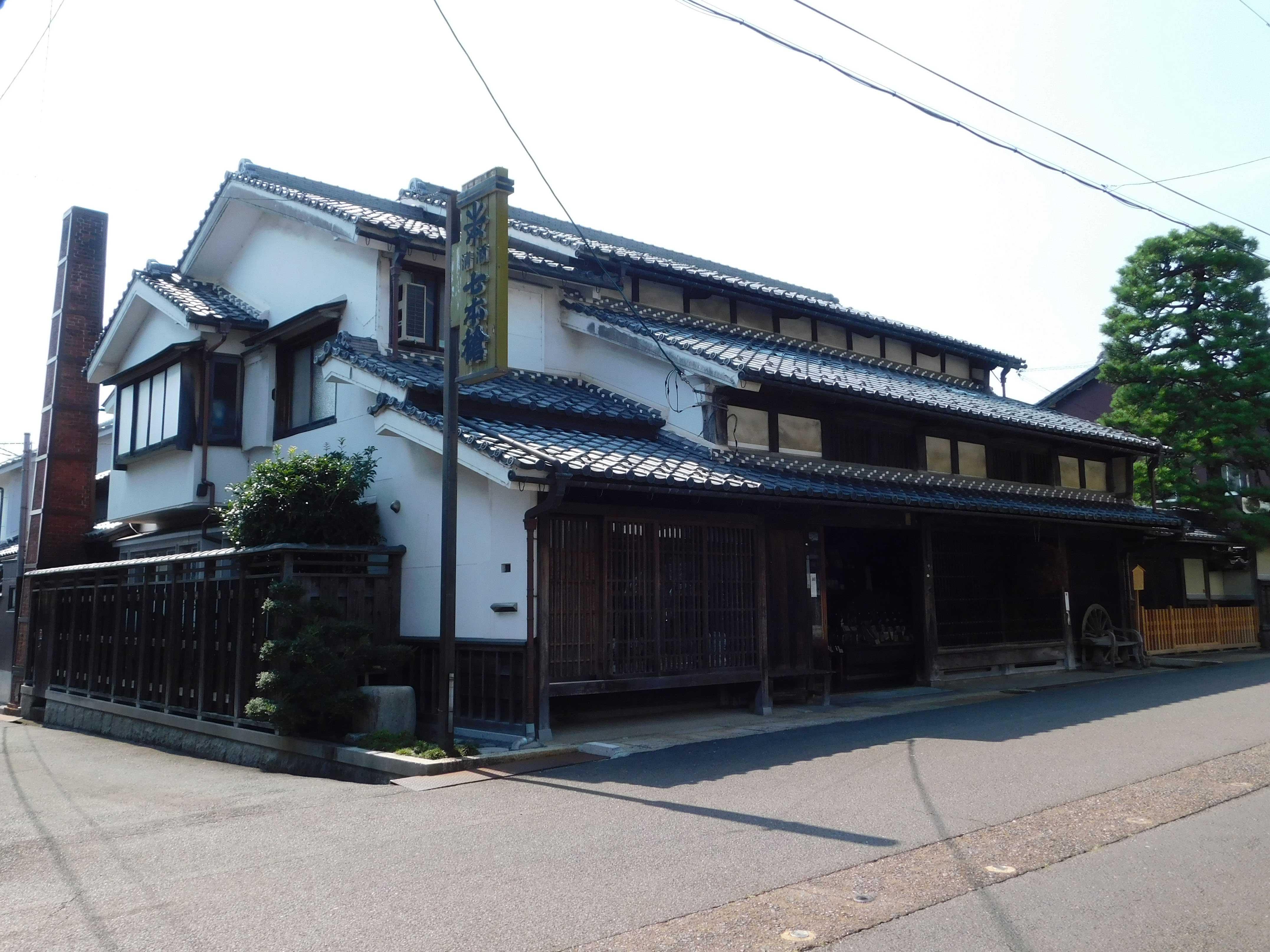 冨田酒造-蔵家屋