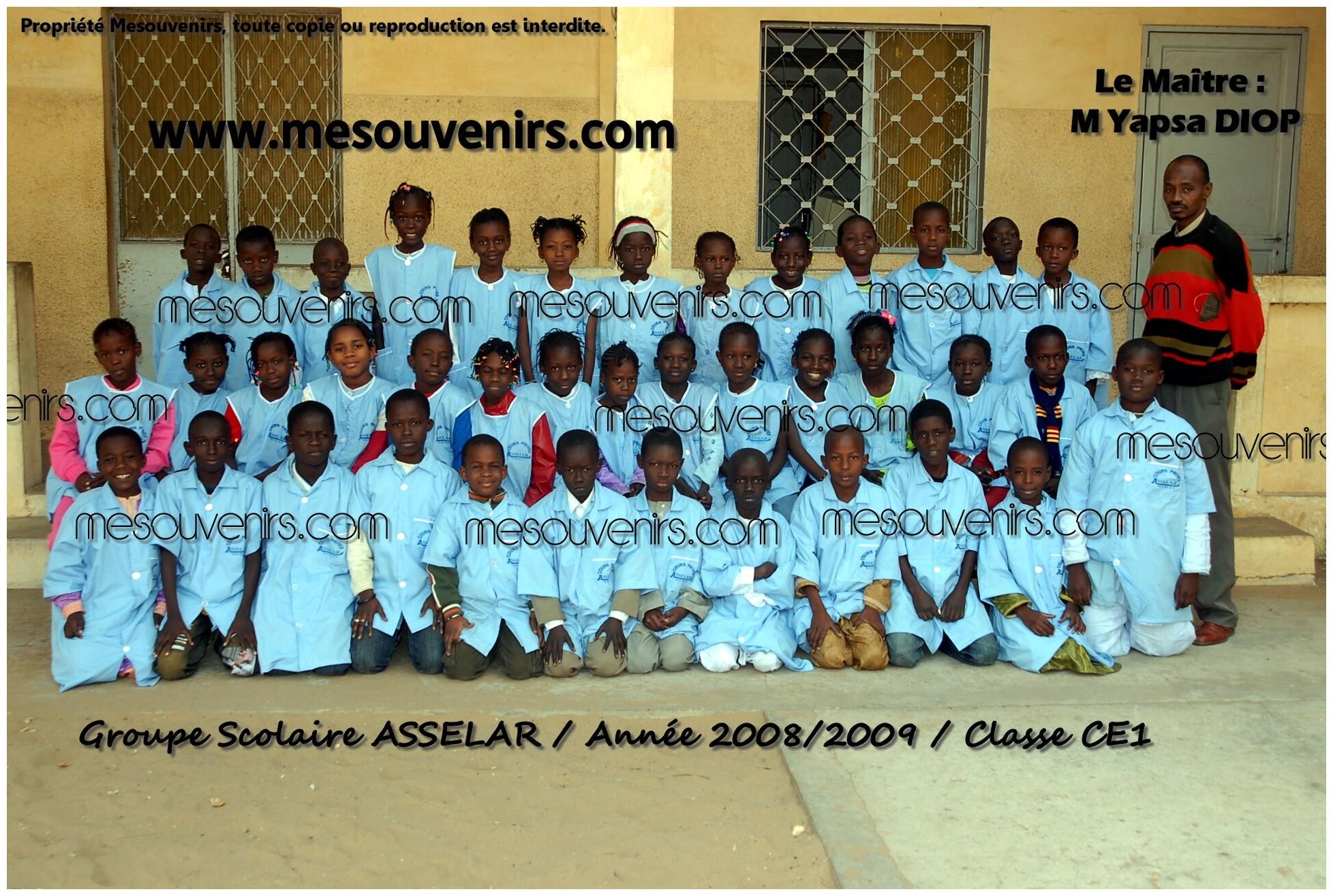 ASSELAR 2008 2009 CE 1