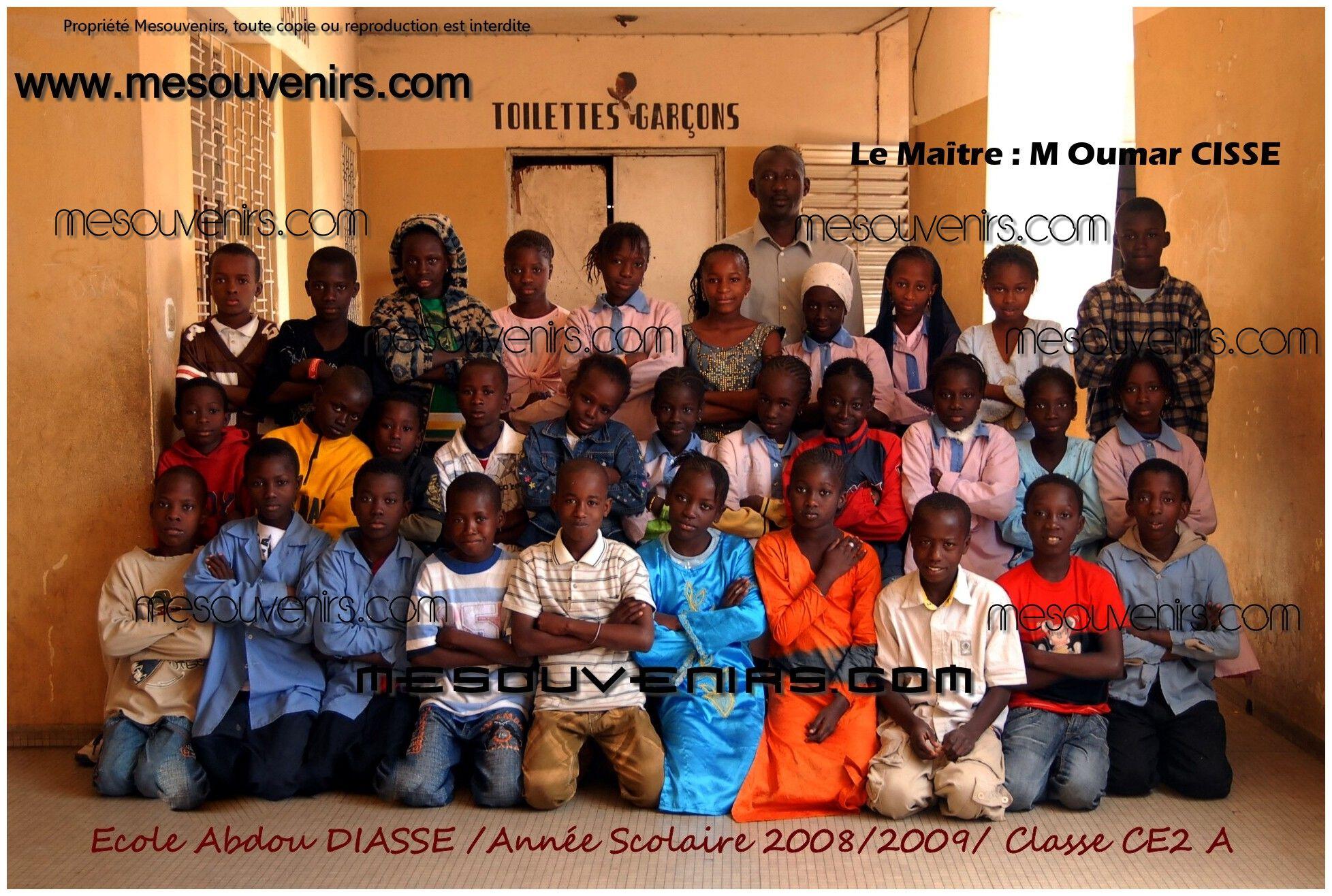 Abdou DIASSE 2008 2009 CE2 A