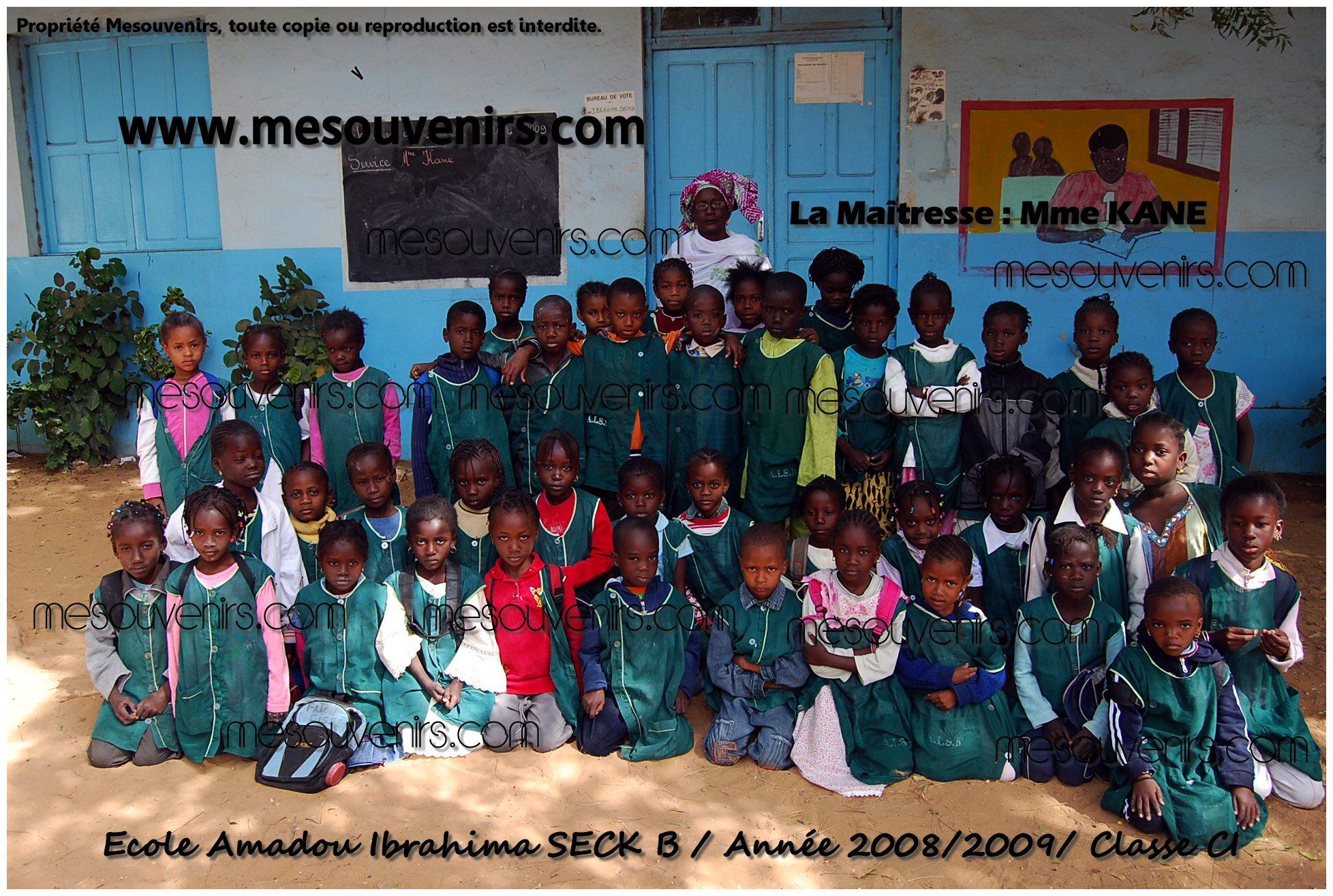 Amadou I SECK B 2008 2009 CI