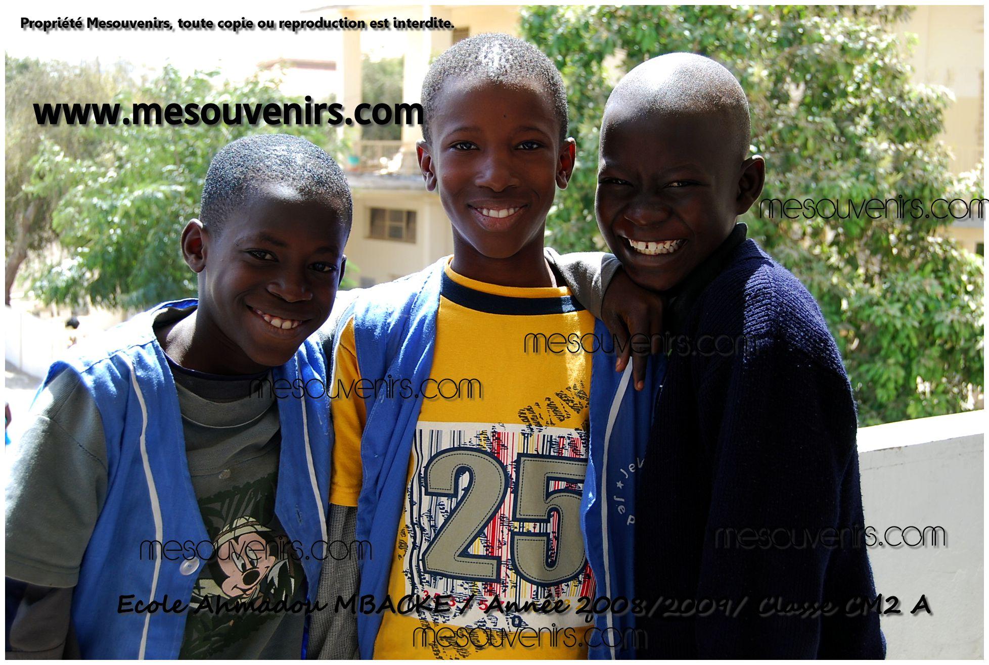 Ahmadou MBACKE 2008 2009 CM2 A