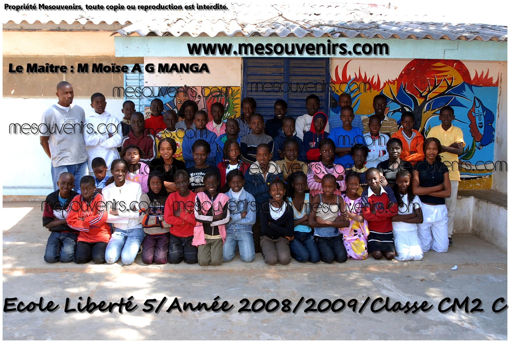 Ecole Liberté 5  2008 2009 CM2 C
