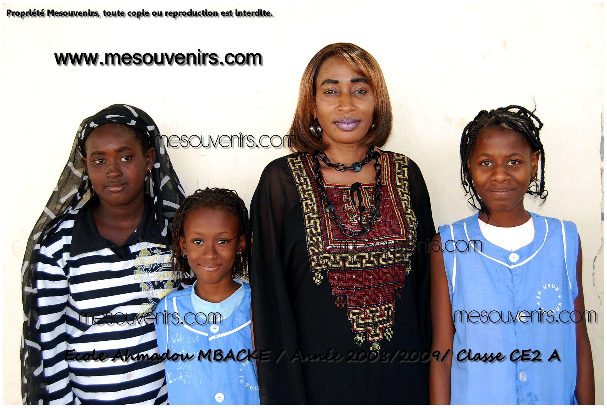 Ahmadou MBACKE 2008 2009 CE2 A
