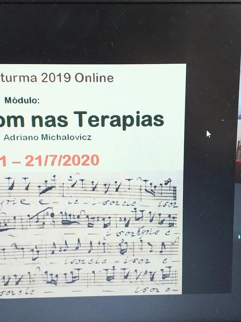 Música e Sons nas Terapias