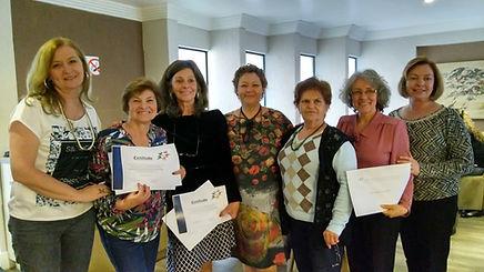 Entrega dos Certificados as alunas do Curso de Acompanhante de Pessoas Idosas em Viagens Turma 2016 (19/11/2016)