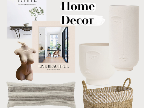My Top 5 Home Decor Pieces - SS 2021