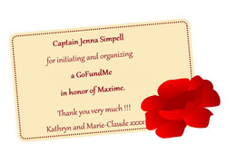 remerciement Jenna Simpell