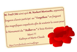 remerciement_Fred_Coté_et_Norbert_Moris