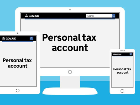 HMRC Personal Tax Accounts