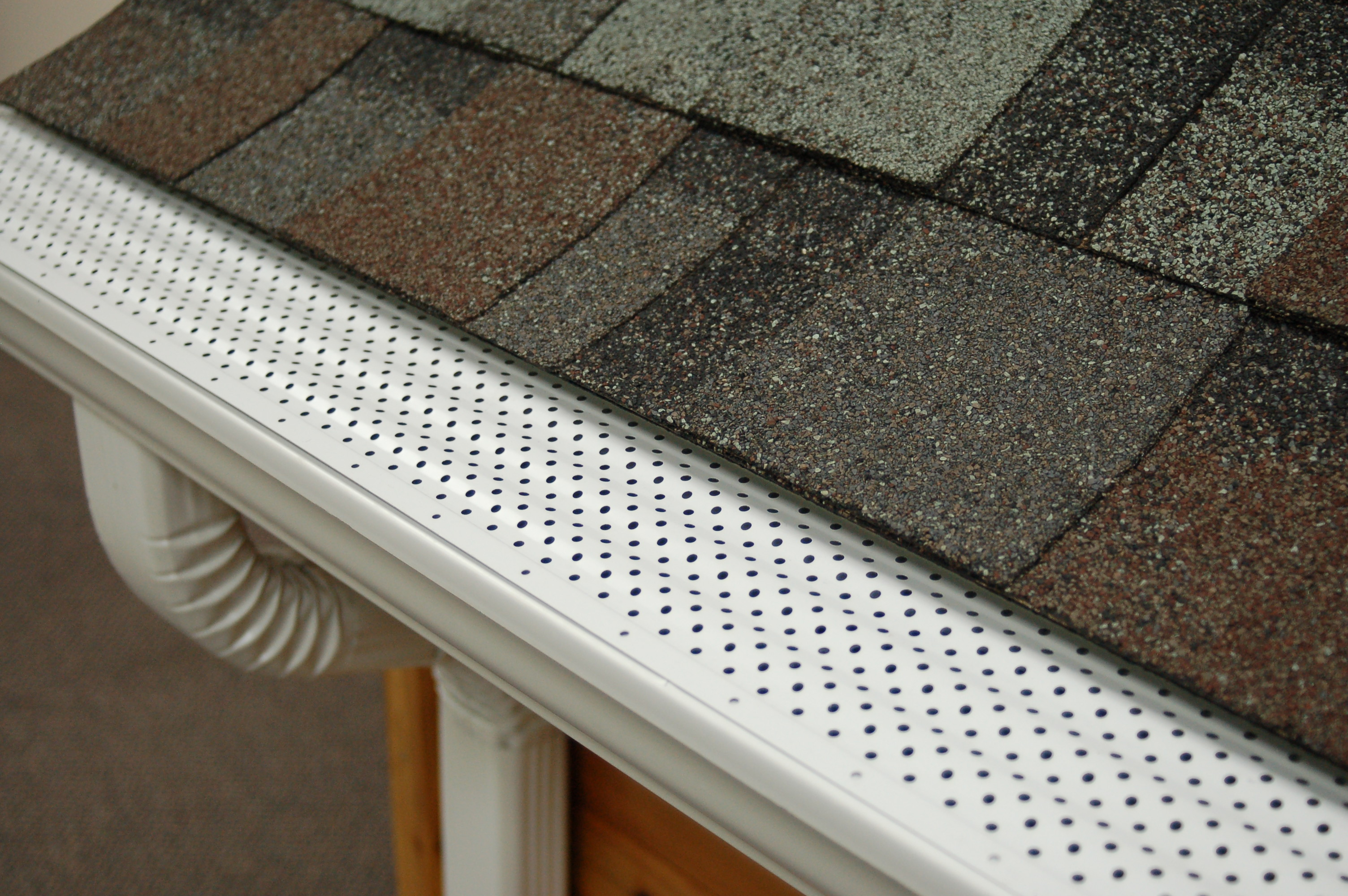 Perforated Aluminum Gutter Guard