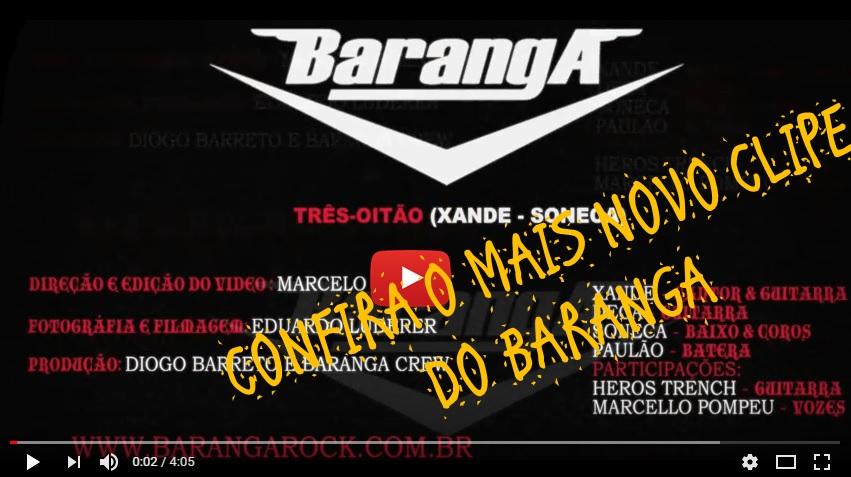 BARANGA DIVULGA NO CLIPE