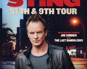 STING '57TH & 9TH' TOUR - CONFIRA O PROVÁVEL SETLIST DO SHOW EM SÃO PAULO
