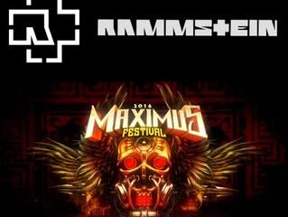 RAMMSTEIN NO BRASIL - MAXIMUS FESTIVAL - 07/09/2016