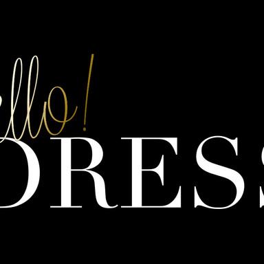 HELLO DRESS