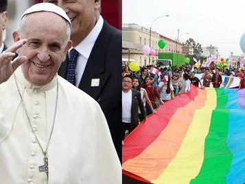 PAPA FRANCISCO Y LA HOMOSEXUALIDAD
