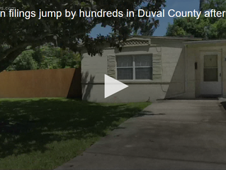 Eviction filings jump by hundreds in Duval County after weakening of statewide moratorium
