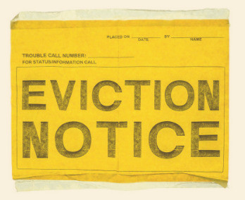 This is an image that says Eviction Notice