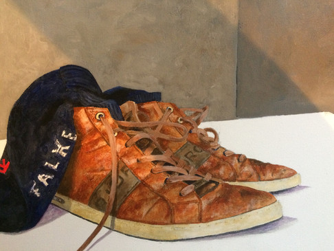 My Painting Shoes