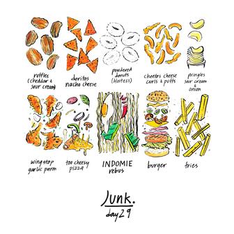 30 chew - day 29, fav junk food.