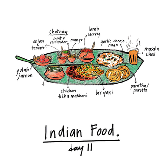 30 chew - day 11, fav indian food.