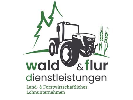 Neues Logo + Branding für Wald & Flur Dienstleistungen
