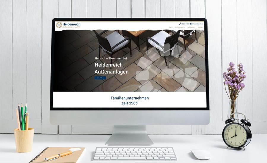 Website-Relaunch für Firma Heidenreich