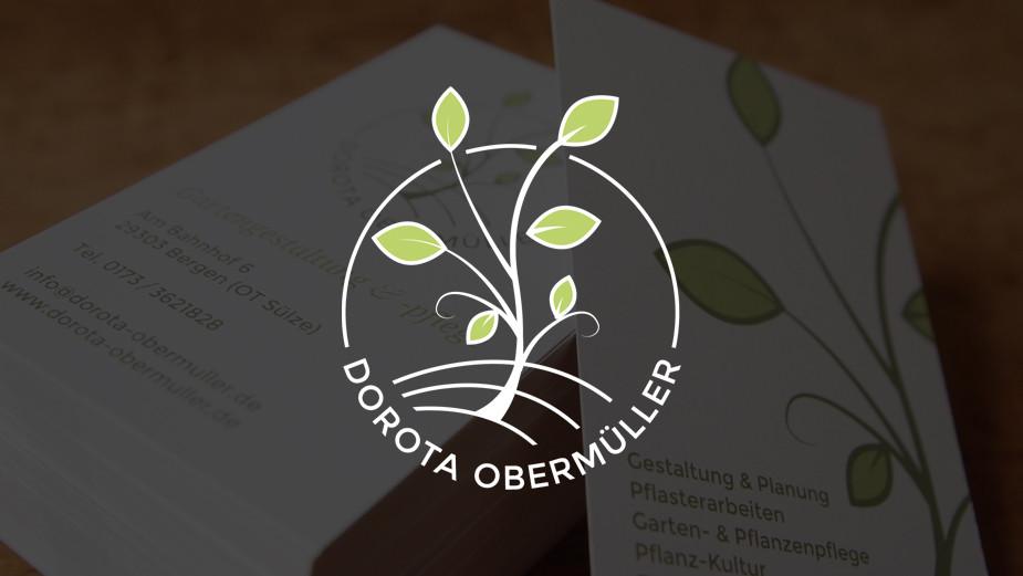Neues Branding für Dorota Obermüller