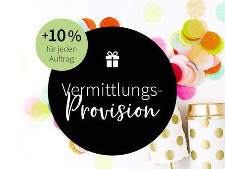 10 % Vermittlungs-Provision geschenkt*