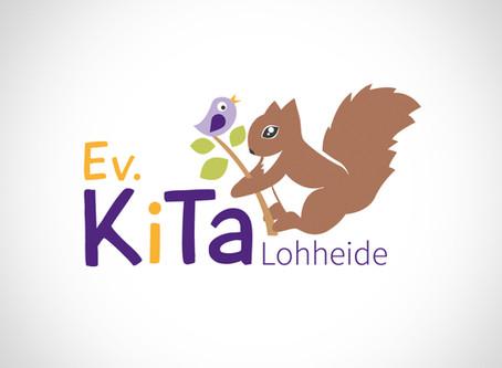 Logo-Entwicklung Ev. KiTa Lohheid