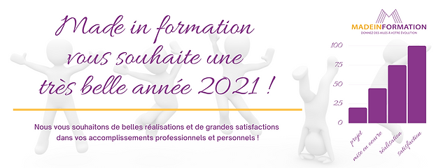 Made in formation vous souhaite d'excell