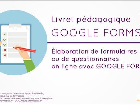 Pourquoi créer des formulaires ou questionnaires en ligne, avec Google Forms ?