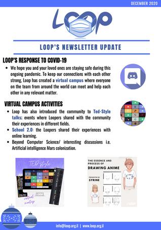 Loop December 2020 Newsletter