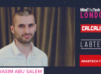 London: Wasim Abu Salem pitch to 25 corporations and investors MindTheTech