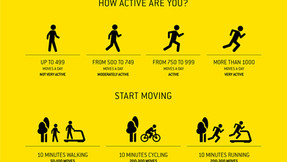 'Let's Move' Campaign by Technogym