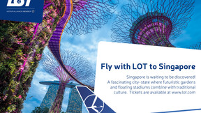 Fly with LOT to Singapore