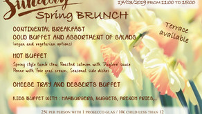 SPRING BRUNCH at the STAFF CENTER