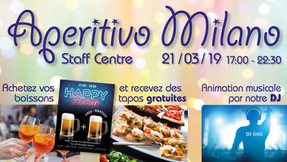 Aperitivo Milano Event in March