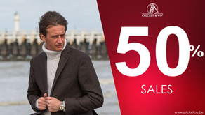 CRICKET & CO SALES – 50 % until end of January
