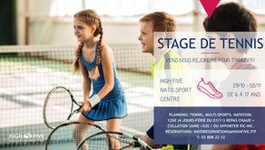 The All Saints Holiday Tennis Camps: Do not miss the fun!
